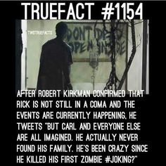 IM GOING TO FRICKEN LOSE MY MIND. UNTIL I KNOW. IMAGE AFTER LIKE 15 YEARS OF THE SHOW BEING ON AND THERE ALL JUST IMAGINED. WELL THERE GOES MY SANITY. I don't think Robert Kirkman would do that because they are really careful with the filming and pictures.