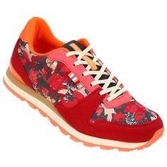 Si te gustan los calzados con diseños modernos pero con la impronta de los modelos clásicos, te presentamos las Zapatillas Topper Pesqueira Running Retro Aventura Bordó e Rojo. | Netshoes