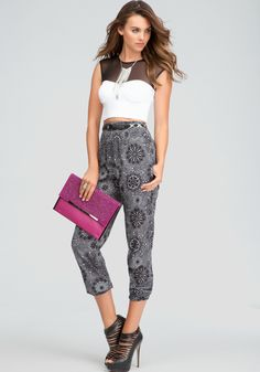 loveee the high waisted pants and these shoes