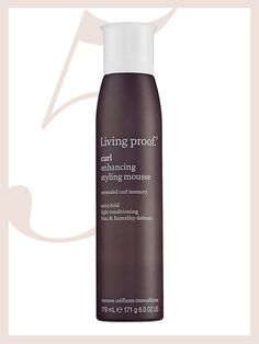Curly Hair Products - Living Proof Curl Enhancing Styling Mousse | allure.com