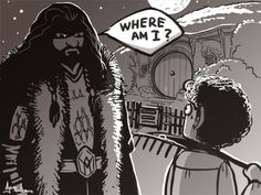Thorin is lost. #Hobbit #Thorin