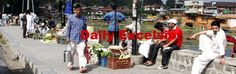People moving freely as curfew was  relaxed  in some parts of Srinagar on Tuesday.Excelsior\Shakeel-ul-Rehman