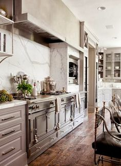 "Let's face it....a ""statement range"" can easily make a pretty kitchen into an extraordinary kitchen!"