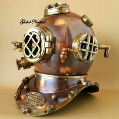 Maritime Collectible Full Size Nautical Iron Divers Nickel Plated Diving Helmet Mark Iv Selling Well All Over The World Other Maritime Antiques