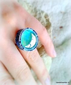 Aqua, Turquoise, Gemstone Rings, Silver Rings, Touch, Jewellery, Gemstones, Beauty, Water