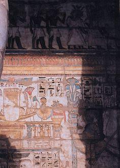 Mortuary Temple of Ramesses III, Medinet Habu , Egypt