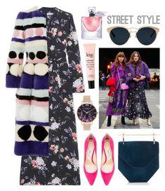 """Street Style"" by cherieaustin ❤ liked on Polyvore featuring Equipment, Jimmy Choo, Olivia Burton, Carolina Herrera, philosophy, Lancôme and Christian Dior"