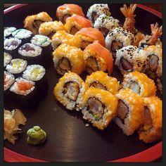 Sushi time!  #eten #Coco