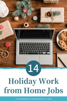 14 holiday work from home jobs. Check out these great ideas to make money for the holidays. | The Work at Home Wife Make More Money, Make Money Blogging, Make Money From Home, Extra Money, Home Blogs, Find Work, Financial Goals, Work From Home Moms, Finance Tips