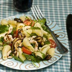 Food Collection: Eggplant Pasta