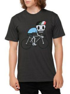 TKDK Skully Ride Slim-Fit T-Shirt