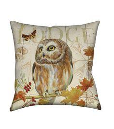 Owl Pillow: Love it!