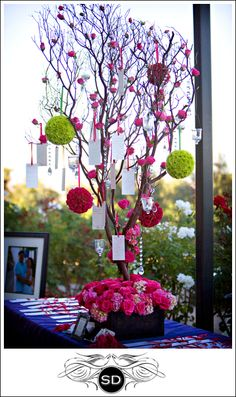 The Love Tree Wedding Wishing Diffe Color Cute Idea By Guest Book
