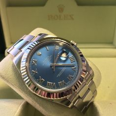 Now in stock - Rolex Datejust II with Blue Roman dial http://www.globalwatchshop.co.uk/rolex-datejust-ii-blue-roman-dial-116334.html?utm_content=bufferf6706&utm_medium=social&utm_source=pinterest.com&utm_campaign=buffer #PriceDrop #Available