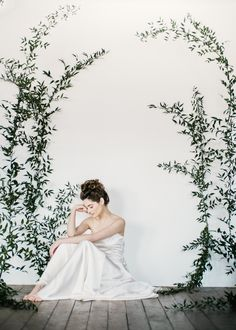 Wedding dress by Halfpenny London featured on Rock My Wedding blog | Image by John Barwood Photography