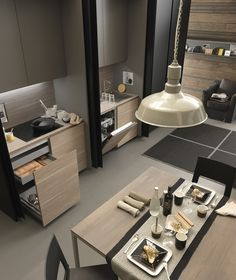 Modulnova kitchen..State-of-the-art kitchen design inspiration byCOCOON.com #COCOON Dutch designer brand for Contemporary Minimalist Modern Luxury Design Bathrooms & Kitchens to live in &.. COCOON!: