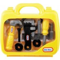 Little Tikes My First Toolbox in Construction Tools. Cheap Toys For Kids, Toys For Girls, Kids Toys, Disney Princess Bedroom, Little Girl Toys, Toys R Us Canada, Lego Room, Construction Tools, Little Tikes