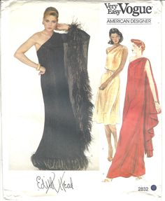 Vintage Vogue Patterns, Vogue Sewing Patterns, Clothing Patterns, Mode Hollywood, Hollywood Glamour, Edith Head, Tennis Dress, Miss Dress, Beautiful Gowns