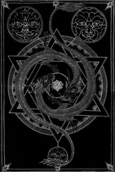 Sacred Geometry I imagine this would just be central image. Occult Symbols, Occult Art, Sacred Geometry Art, Sacred Art, Masonic Art, Evil Art, Psy Art, Tattoo Motive, Demonology