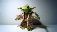 Master Yoda Crochet Toy Pattern by stepbystepatterns on Etsy