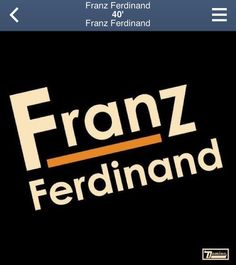Franz Ferdinand ~ 40' (self-titled)