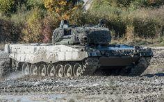 Leopard 2, Battle Tank, Germany, polygon, German tanks