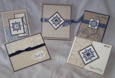 Baroque Motifs Gift Card Set
