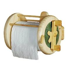 Fishing Reel Toilet Paper Holder - I love it! $22