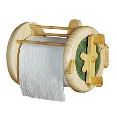 Fishing Reel Toilet Paper Holder - I love it! $22