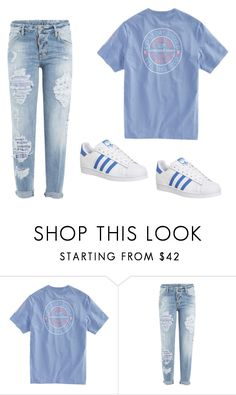 """""""Untitled #124"""" by rina-prescott ❤ liked on Polyvore featuring Dsquared2 and adidas"""