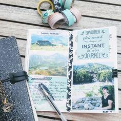 Une semaine de souvenir de nos vacances en Savoie dans un notebook. Voyage Quotes, Smash Book, Travelers Notebook, Filofax, Holiday Travel, Mini Albums, Book Art, Travel Destinations, Bujo