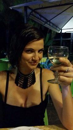 Cheers! #drink #wine #goodnight #fashion #happiness #restaurant