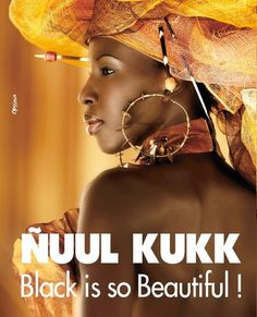 "Ñuul Kukk is a citizen-organized movement against skin bleaching in Senegal.  | Ñuul Kukk / Niul Cuuc  is Wolof, a language  of Senegal, Gambia, and Mauritania, for ""Pitch Black."" ""Ñuul"" represents the color ""Black"". ""Kuuk"" is exclusively associated with a qualifier; ""Ñuul"" to accentuate the darkness. The term ""Ñuul Kuuk"" refers to the maximum degree that can reach black."