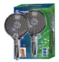 Extra Large Head Hand Held Shower Filter