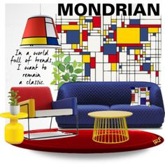 mOnDRiAn :: 250716 Piet Mondrian, Art Studio Design, Cafe Design, Cute Furniture, Bedroom Door Design, Bauhaus Design, Interior Decorating, Interior Design, Memphis