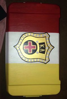 Kappa Alpha Order cooler I made for a friend -MH