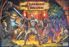 Dungeons & Dragons: The Fantasy Adventure Board Game | Board Game | BoardGameGeek