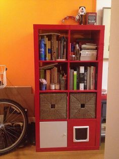 EXPEDIT shelving unit + total kitty litter disguise | IKEA Hackers Clever ideas and hacks for your IKEA