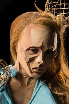 FaceOff Season 5 - Living Art Miranda: Cubism, Face sculpt