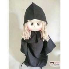 Boneca de Pano Bruxa Má - Branca de Neve 50cm