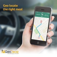 Geo locate the right meal!  Still not had the chance to explore different eateries around? Use GeoDealz to geo-locate the right place, with the right meal, at the right price!   iOS: apple.co/23hzIMQ Android: bit.ly/1YiBXbV