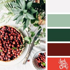 Color Schemes Colour Palettes, Red Colour Palette, Color Palate, Bedroom Color Schemes, Color Combos, Bedroom Colors, Christmas Palette, Christmas Colour Schemes, Deco Rose