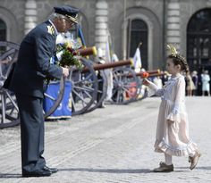 Royals from around the world flew in, loyal Swedes lined the streets of…