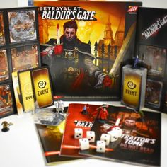 Newly Opened Game: Betrayal at Baldur's Gate! #boardgames #boardgamephotography #tabletop #unboxing