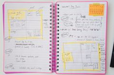 Project life notes. Very great blog for project life ideas