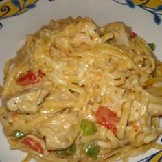 Chicken Spaghetti Casserole I Allrecipes.com