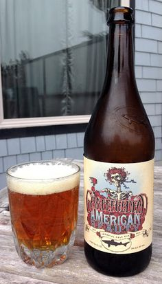 Grateful Dead American Beauty IPA, Dogfish Head Brewery, Milton, Delaware - bought in Northern California