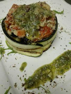 Ristorante a Udine La Libellula bistrot. Insalata di Quinoa con pesto alla Genovese