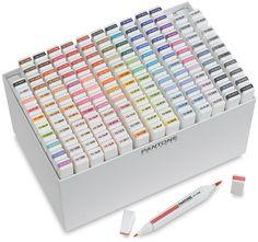Very nice and expensive: http://www.amazon.com/Pantone-Universe-Twin-Markers-Set/dp/B002YEF5MI/ref=sr_1_7?ie=UTF8=1322674388=8-7