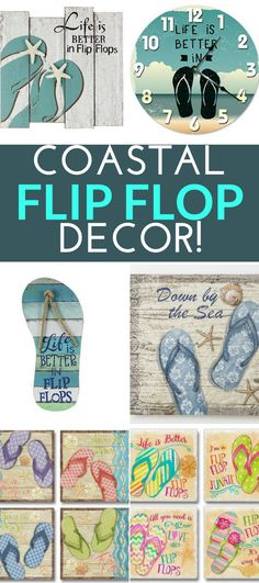 8 Best Flip Flop Decor images in 8  Best flip flops